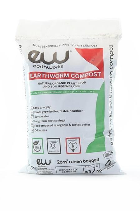 Earthworks Earthworm Compost