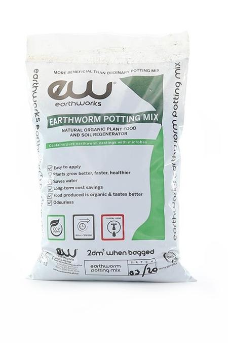 Earthworks Earthworm Potting Mix